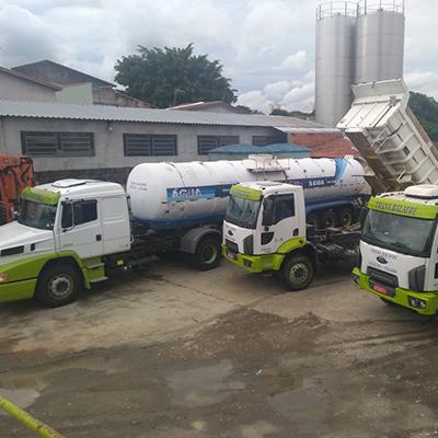 Caminhão de água para eventos