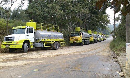 Caminhão pipa para irrigação